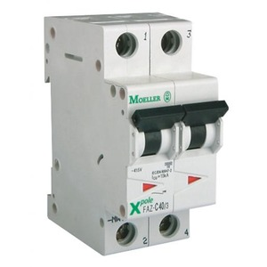 Eaton Installatieautomaat FAZ-C16/2 , C 16A , 2 Polig , 15 kA