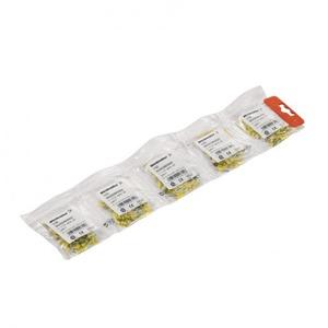 Weidmuller Connecting elements adereindhuls 4mm² 18mm Geïsoleerd Grijs 9019190000