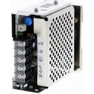 Omron Voeding S8JX-G,24DC/1,5A,35W,DIN-rail,100-240AC in,met behuizing