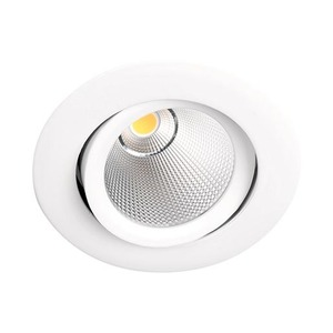Lumiparts LED SPOT BEX 2700K ROND KANT. WIT