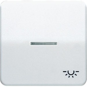 Jung CD500 bedieningselement Enkele wip Wit CD590KO5LWW