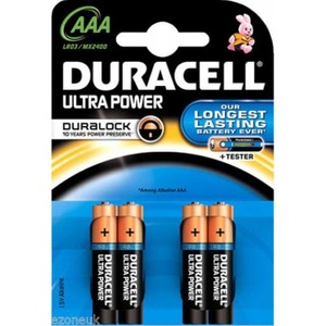 Duracell LR03 1,5V AAA ULTRA POWER BL4