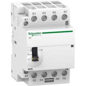 Schneider Electric Ict magneetschakelaar 4p 4m 63a hand 230