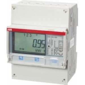 ABB ENERGIEMETER 3F INDIRECT 6A, 230/400V AC KLASSE C, 2XI / 2XO, ACT. / R