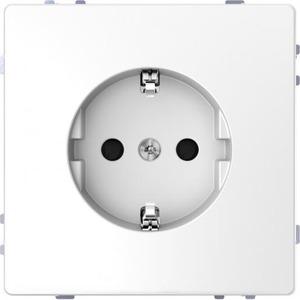 Merten D-Life WANDCONTACTDOOS RA 1V KV WIT MTN2300-6035