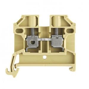 Weidmuller SAK Verbindingsrijgklem 0,5-6mm²  eendr. 0,5-4mm² meerdr. Beige 0380460000