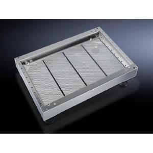 Rittal PS Sokkelplaat modulair 450D RVS