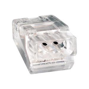 Wago Lasklem 3-voudig 4mm2 transparant