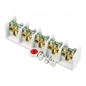 ABB Hafonorm aansluitklem voor hoofdkabel 5p DIN-rail 15-aansluitingen 71735