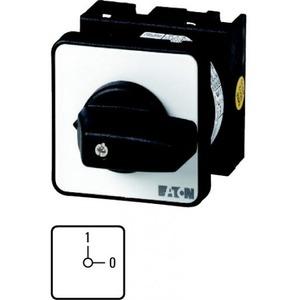 Eaton Aan-uit-schakelaar, 4p, Ie=12A FS 0-1, 90°, eengats frontinb