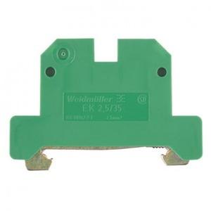 Weidmuller SAK aardrijgklem 0,5-2,5mm Groen/geel 0661060000