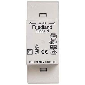 Friedland beltransformator 230V 8V E3554N