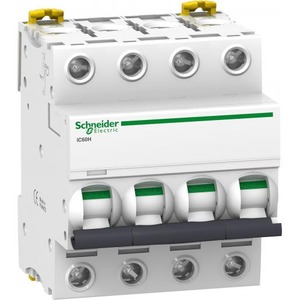 Schneider Electric Acti 9 Installatieautomaat C karakteristiek 40A 4p 4TE A9F89440