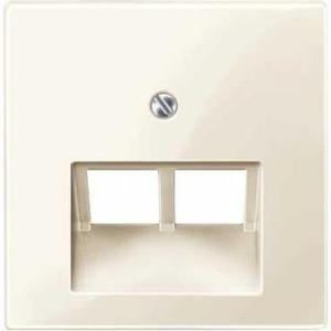 Merten Slagvast Onderdeel/Centraalplaat UAE/IAE Centraalplaat Kunststof Crèmewit (elektrowit) MTN296144