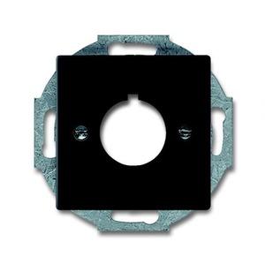 ABB Busch-Jaeger Future linear bedieningselement Centraalplaat Zwart 2CKA001724A4301