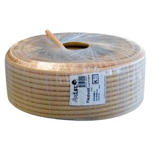 Pipelife Flexivolt Low Friction PVC flexibele buis 16mmx20m creme
