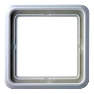 Jung CD500 Afdekraam 1V Cremewit/elektrowit IP44 CD581W