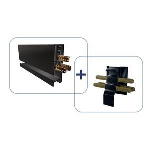 MAINLINE POWER & DATA MAINLINE RAIL (2,1 M), ZWART INCL. QUICK CONNECTOR