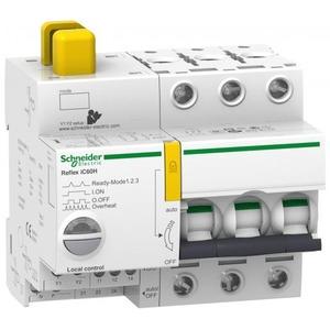 Schneider Electric REFLEX iC60H Ti24 25 A 3P C MCB+CONTROL