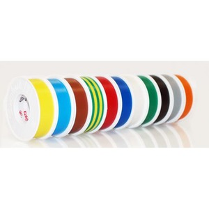 Coroplast 302 zelfklevende tape 15mmx10m PVC Zwart 440502