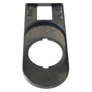 Eaton Tekstplaatdrager zonder schild, voor dubbele drukknop