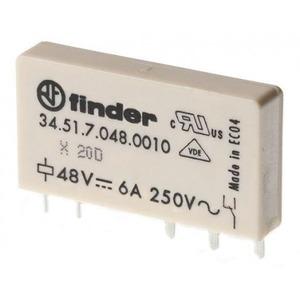 Finder RELAIS 1W 6A 12VDC S.