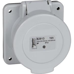 Schneider Electric CEE INBOUWCONT.DOOS RECHT 16A 2P 50V 1