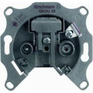 Hirschmann antennecontactdoos Rijgdoos 2v 940107001