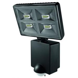 Theben LED straler met bewegingsmelder voor wandmontage, 32W, zwart