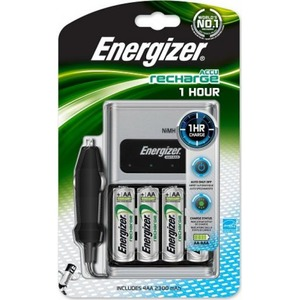 Energizer 1 HOUR LADER 4xAA MET CAR ADAPTOR