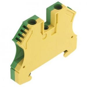 Weidmuller aardrijgklem 1,5-6mm Groen/geel 1010200000