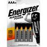 Energizer Batterij power AAA (blister a 4 stuks)