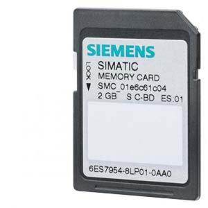 Siemens MEMORY CARD S7-1X00 CPU, 3,3 V FLASH, 2 GBYTE