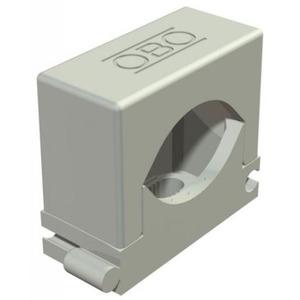 OBO Rijg-druk-zadel 18-30mm, PA, lichtgrijs, RAL 7035