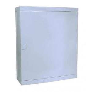 Hager Verdeler IP40 36 mod opbouw, deur wit