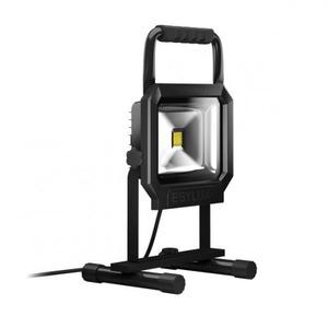 Esylux LED-schijnwerper 30 W, draagbaar, zwart