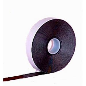 Newlec zelfklevende tape 19mmx10m Caoutschouc (ongevulkaniseerd rubber) Zwart 0-100221