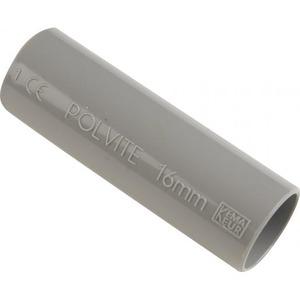 Pipelife Polvite VSV sok slagvast 19mm donker grijs RAL7037