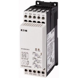 Eaton SOFTSTARTER 200-480VAC(50/60HZ), 24VAC/DC STUURSPANNING 3KW 7A
