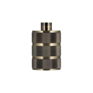 Bailey LAMPHOLDER ALU GRID E27 BRONZE ANTIQUE