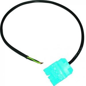 Hager Aansluitsnoer 5x1,5 mm2 16 A 3m blauw