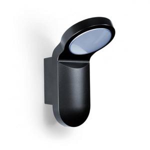 Esylux LED-armatuur in aluminium behuizing, 14 watt, 3000 K, zwart