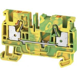 Weidmuller A-series aardrijgklem 0,5-4mm Groen/geel 2051360000