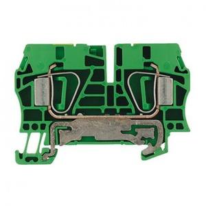Weidmuller Z-serie aardrijgklem 0,5-6mm Groen/geel 1608670000
