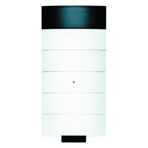 Berker IR-tastsensor 5-voudig met kamerthermostaat en display polarwit, mat B.IQ
