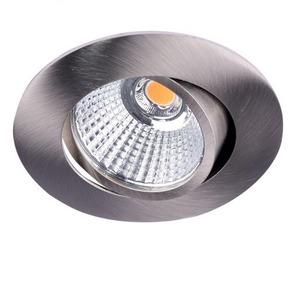 Newlec LED SPOT ALUMINIUM ROND 8,4W 3000K DRAAIBAAR, KANTELBAAR EN DIMBAAR