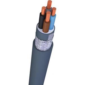 Nexans VO-YMVKAS Dca installatiekabel 4x2,5mm² Grijs 10532048