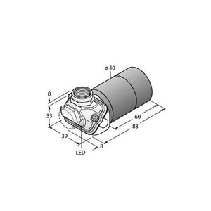 Turck CAPACITIVE SENSOR, FOR THE FOOD INDUSTRY