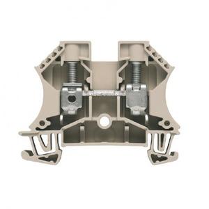 Weidmuller W-serie Verbindingsrijgklem 1,5-16mm²  eendr. 1,5-16mm² meerdr. Beige 1020300000
