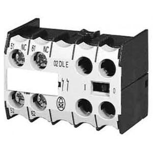 Eaton Hulpcontacten 1m+3v opbouw schroefaansluiting
